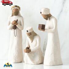 Willow Tree Three Wise Men Nativity Figurines_#26027 -New In Box