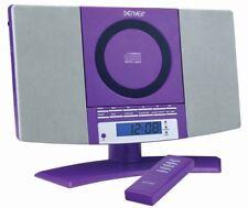 Stereoanlage mit CD, Radio und AUX Denver MC-5220 lila Wandmontage geeignet