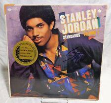 Stanley Jordan Signed Autographed Album C