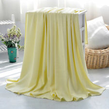 summer blanket thin bamboo fiber air conditioning blankets throws cool feeling