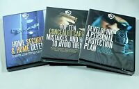 USCCA Self Defense 3 DVD Lot - Home Security Concealed Carry Personal Protection