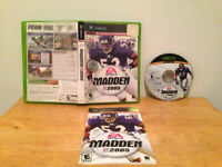 Madden NFL 2005 Microsoft Xbox Complete CIB VERY Fast Shipping Worldwide!!!