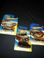 Hot Wheels Hollywood. A- Team Van, Batmobile, Back to the Future!