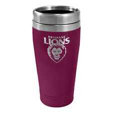 Melbourne Demons AFL TRAVEL Coffee Mug Cup Double Wall Stainless Steel Bar Gift