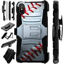 Lux-Guard For iPhone 6/7/8 PLUS/X/XR/XS Max Phone Case Cover BASEBALL