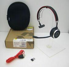 Jabra EVOLVE 65 UC Mono Bluetooth USB PC Headset with Link 360 USB Adapter New