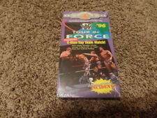 TOUR DE FORCE 1996 96 wwf BRAND NEW wrestling vhs FACTORY SEALED