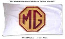 Big NEW MG CAR MGA MGB TD ZS ZT ZR TF LOGO FLAG BANNER POWER 3x5 Feet roadster