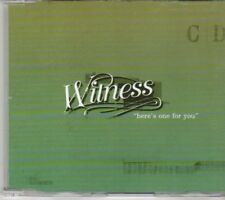 (DG522) Witness, Here's One For You - 2001 DJ CD