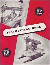 DeWalt Model GP Radial Arm Saw Manual