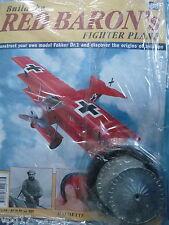 Costruire la RED BARON's FIGHTER AEREO FOKKER DR1 Hachette Fascicolo 86 NUOVO SIGILLATO