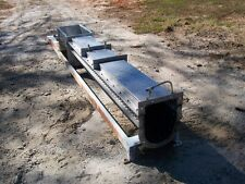 Screw Conveyor Trough, 316 Stainless Steel