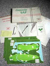 Championship Golf by Tod Lansing - 1965 Game - Sagamore Links - Very Rare