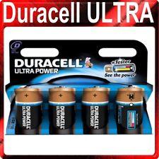 4x Tamaño D Duracell Ultra Baterías mn1300b4 M3 B4 mx1300 LR20