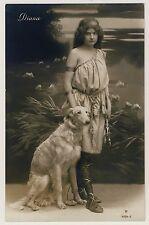 Windhund BARSOI / BORZOI Greyhound Русская псовая борзая * Vintage 1900s RPPC #2