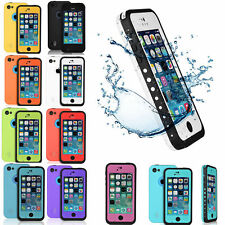 DURABLE WATERPROOF SHOCKPROOF PROOF CASE FOR APPLE IPHONE 5C 5 5S 6 6S PLUS
