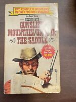 Gunslick Mountain and Once in the Saddle Mass Market Paperbound Nelson C. Nye