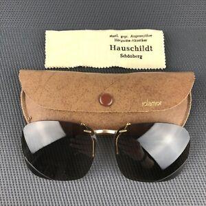 SOL AMOR Sonnenbrillenaufsatz Sonnenbrillen-Clip Aufsteck Sonnenbrille VINTAGE