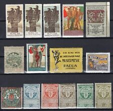 ITALY - OLD & RARE EXHIBITION CINDERELLA COLLECTION MINT NEVER HINGED