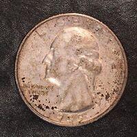 1935-S Washington Quarter Nice Detail - High Quality Scans #E089