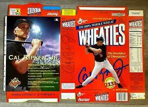 Cal Ripken Jr. Baltimore Orioles Wheaties Box Unassembled