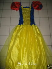 ADULT 12 14 16 Snow White Style Fairy Fancy Dress Costume