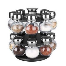 Home Basics SR44072 16Pc Revolving Spice Rack NEW