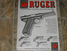 1959 RUGER REVOLVERS & PISTOLS AD
