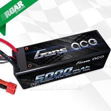 Gens Ace 4S 5000mAh 14.8V 50C 4S1P HardCase Lipo Battery with Deans-Plug