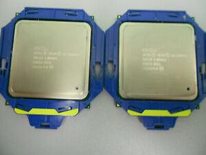 2 Stück INTEL Xeon CPU E5-2690v2 3,0 bis 3,6 GHz 10-CORE 25MB Cache FCLGA2011