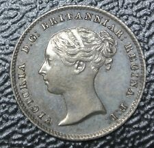 1838 GREAT BRITAIN - FOUR PENCE - .925 SILVER - Victoria - Nice