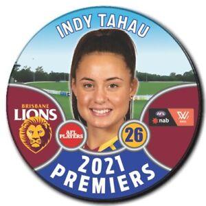 2021 AFLW Premiers Player Badge - TAHAU, Indy
