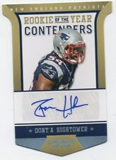 2012 Contenders Rookie of the Year Contenders Dont'a Hightower RC Auto 07/10