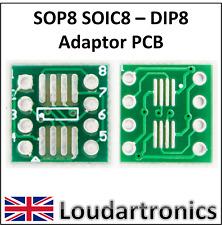 DIP8 –  SOIC8 / SOP8 Adaptor PCB x 2