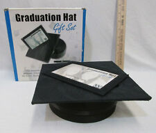 Graduation Hat Gift Set By Writer's Lane Frame Box Pen & Key Chain Original Box