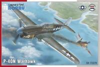 Special Hobby SH 72374 P-40N Warhawk 1:72 Modellbau Flugzeug 2. WK USAF