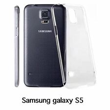 Samsung Galaxy S5 crystal clear thin hard case BUY 2 GET A 3rd FREE