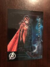 2015 Avengers Age of Ultron Avenger's Database #AD-S - Scarlet Witch