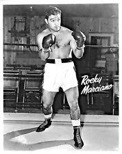 Boxing Legend Rocky Marciano 8x10 Photo #1