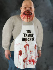 Halloween Butcher Bloody body Parts Apron Zombie Costume. One Size.