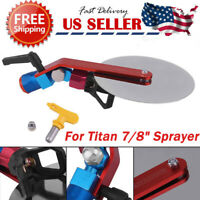"Universal Airless Paint Spray Guide Accessory Tool w/ Tip for Titan 7/8"" Sprayer"