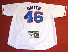 LEE SMITH AUTOGRAPHED CHICAGO CUBS JERSEY AASH 478 SAVES INSCRIPTION e16df4892