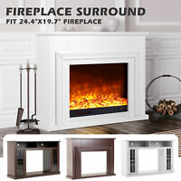 43 Fireplace Mantel Surround Tv Stand Unit Console Living Room