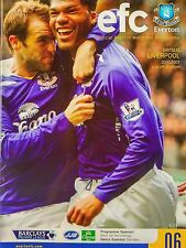 Everton v Liverpool Barclays Premier League 20/10/2007 MINT CONDITION.VERY RARE.