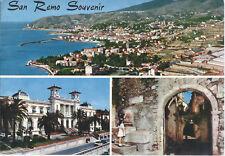 SANREMO - SOUVENIR - 3 VEDUTE - VSD - FG