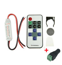 Wireless Remote Controller RF Dimmer for 5050 3528 Single Color LED Strip Lights