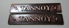 Rare: A Pair of Tannoy Badge for Corner Speakers