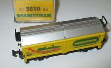 Minitrix 13530-83  Hubdachwagen Messe 1983  > Neuw/OVP