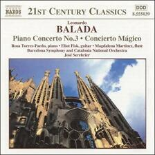 Balada: Piano Concerto No. 3; Concierto M gico (CD, Jul-2001, Naxos /Distributor