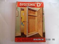 SYSTEME D N°157 JANVIER 1959 AMENAGER UN PLACARD DANS UNE PORTE MOTOCULTEUR  G76